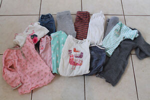 Lot 12-24 month girls clothes