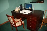 Executive Desk & Chair