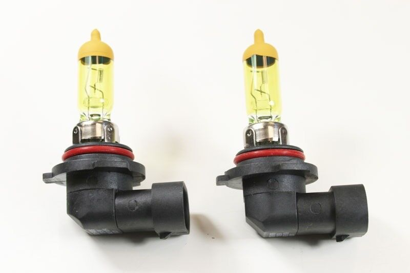 Nokya 2500K Yellow 9006 HB4 Nok7610 55W Two Bulbs Head Light Replace Low Beam OE