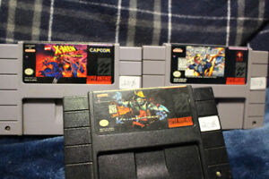 Jeux SNES : Killer Instinct, X-MEN