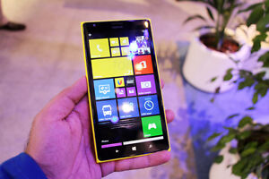 UNLOCKED Nokia Lumia 1520 Yellow 16GB