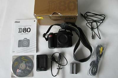 Цифровой фотоаппарат Nikon D D80 10.2MP