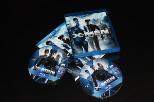 2X BLU RAY-X MEN-FILM/MOVIE (NEUF/NEW)