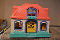TWO TOY HOUSES