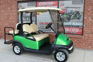 2012 CLUB CAR PRECEDENT GOLF CART ELEC 48VOLT SYNERGY GREEN