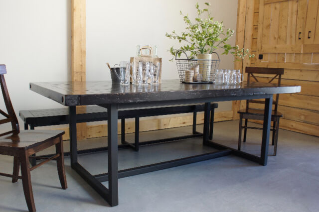 Reclaimed Wood amp Iron Dining Table By LIKEN Woodworks  : 27 from www.kijiji.ca size 640 x 426 jpeg 46kB