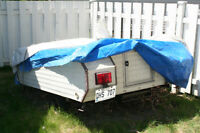 1972 Belon soft top tent trailer