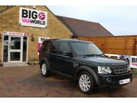 2014 LAND ROVER DISCOVERY 4 SDV6 255 COMMERCIAL XS PICK UP DIESEL