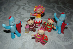 In the Night Garden Ninky Nonk Figures. Lot of 6 Upsy Daisy, etc