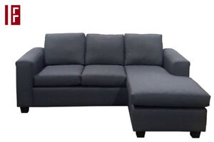SOFA CHAISE only $549!  Made in Canada.