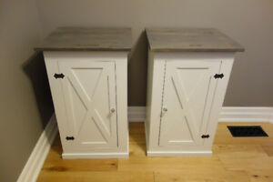 Custom Farmhouse Nightstands