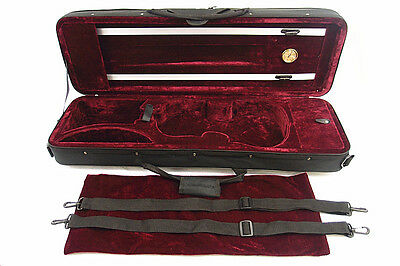 New 4/4 Enhanced Violin Case(VC-350HRD) + Free U.S Shipping