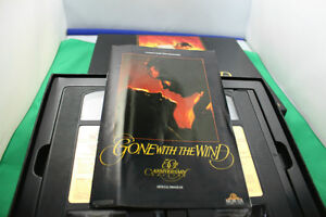 VHS GONE WITH THE WIND 50th anniversary addition  1989 Kingston Kingston Area image 4