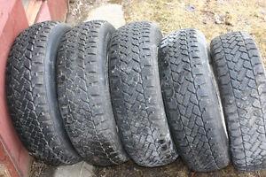 Pneus 14 pouces et pneus 15 pouces
