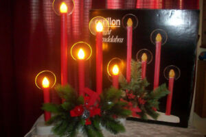 Wanted , Christmas candle lights