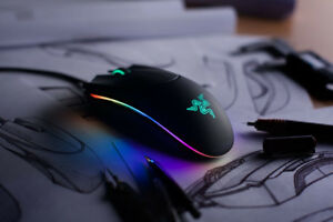 Razer Diamondback Chroma RGB Laser Gaming Mouse