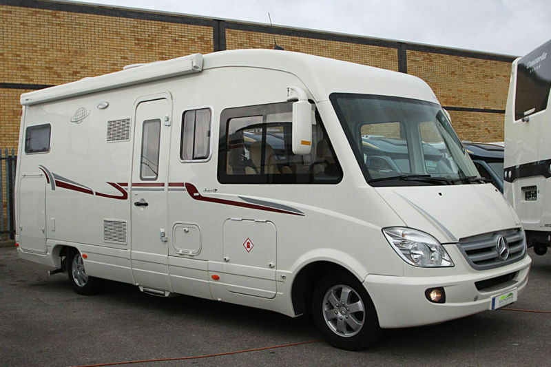 Le voyageur 755 sx mercedes benz sprinter luxury a class for Mercedes benz luxury rv