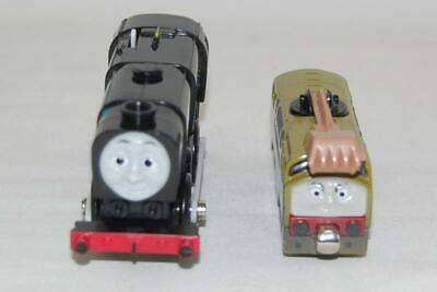 Two Gullane Thomas The Train Limited Engines Neville 33010 and Diesel 10