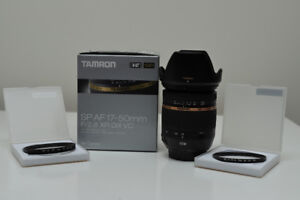 Tamron 17-50mm F/2.8 XR DiII VC pour Canon