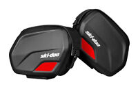 SKI-DOO SADDLE BAGS, NEW, LINQ ATTACHMENT SYSTEM, 2 X 13 LITRES