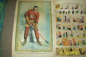 cartes sport hockey luteur boxe foot ball tennis la presse 1928