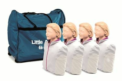 Laerdal Little Anne Manikin Cpraed 4 Pack Light Skin