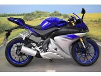 Yamaha YZF-R125 ABS **Tank Pad, Low Mileage, Learner Legal**