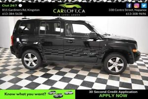 2016 Jeep Patriot HIGH ALTITUDE 4X4-LEATHER*HEATED SEATS*SUNROOF