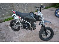 Ghost 110cc two thirds size motocrosser