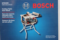 "Bosch GTA500 Folding Stand for 10"" Portable Jobsite Table Saw"