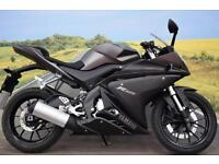 Yamaha YZF-R125 ABS **Learner Legal, ABS, HPI Clear**