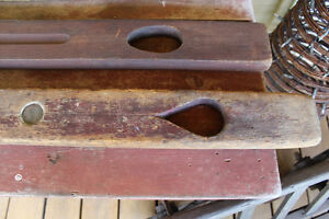 Antique Wooden Carpenter's Levels London Ontario image 3
