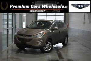 2010 Hyundai Tucson GLS / LOW KM ONLY 75000 / HEATED SEATS