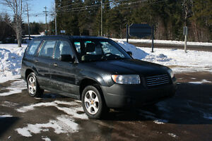 Subaru Forester 2.5X AWD perfect winter vehicle !!! REDUCED!!!