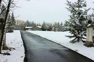 Beautiful Acreage in West 80 located minutes from Stony Plain