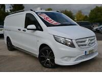 2015 Mercedes Benz Vito 111CDI Van LWB long Full BodyKit 18 Alloys 6 door Com...