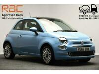 2016 66 FIAT 500 *PANORAMIC ROOF* 1.2 LOUNGE 3D 69 BHP