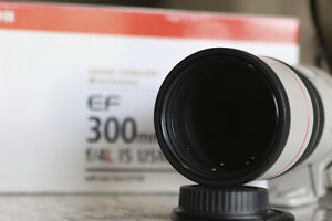 Canon 300mm F4 L IS Regina Regina Area image 2