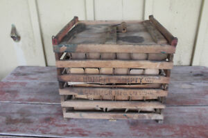 Vintage Wooden Crates Kijiji In London Buy Sell Save With