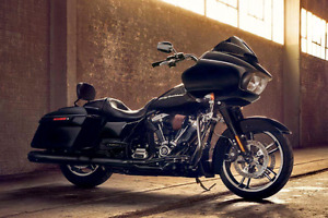Trade professional work for your Harley-Davidson