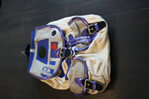 STAR WARS R2D2 LADIES/ GIRLS BACKPACK