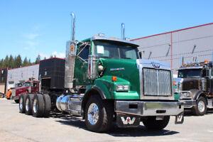 2011 Western Star 4900 Tri-Drive #4722