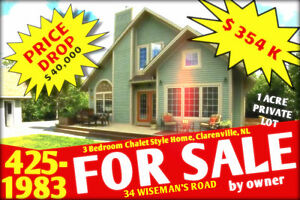3 BEDROOM HOUSE FOR SALE 34 WISEMAN'S ROAD, CLARENVILLE