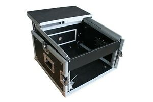 6/10 HE WINKELRACK L-Rack DJ-Case mit Ablage Laptop NOTEBOOK PA WOW Mixer NEU