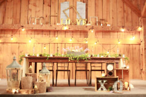 Rustic and Vintage Wedding Decorating