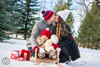 Christmas and Winter Photoshoots starting at $45