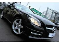 2014 64 MERCEDES-BENZ SLK 1.8 SLK200 BLUEEFFICIENCY AMG SPORT 2D AUTO 184 BHP