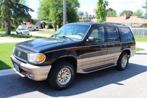 Price drop - 2000 Mercury Mountaineer SUV, Crossover