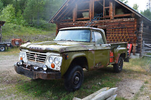 1963 Dodge Fargo D100 stepside 4x4 REDUCED