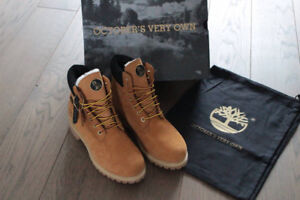 "OVO x Timberland ""Wheat"" Size 8.5 with Receipt"